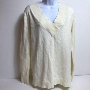 Anthropologie vneck super soft sweater